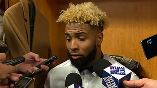 Odell Beckham Jr Tells Fans to STFU About Fantasy Football - Video