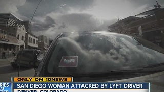 San Diego woman has terrifying Lyft experience in Denver Christmas night - Video