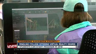 Ringling College of Art and Design to offer virtual reality degree in 2018 - Video