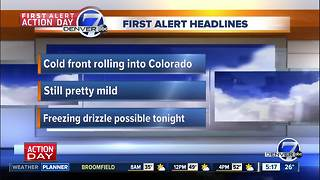 Wednesday morning forecast: First Alert Action Day - Video