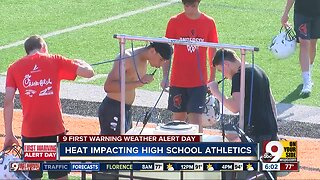 Heat impacts high school athletes