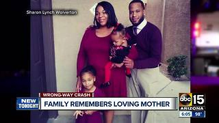 Family remembers loving mother killed in wrong-way crash on SR347 - Video