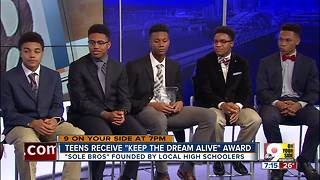 Teens receive Keep The Dream Alive award - Video