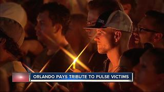 Pulse ceremony spreads a message of love in the face of terror - Video