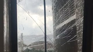 Severe Storm Damages Office Complex Outside Johannesburg - Video