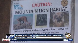 Trail remains closed after possible mountain lion attacks boy