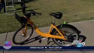 Bike share program launches today - Video