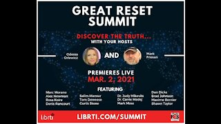 Great Reset Summit - Premiere Episode -Marc Morano & Dr. Carrie Madej