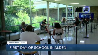 Back to school for Alden students