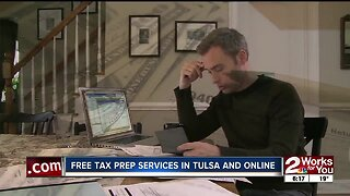 Free Tax Prep Services in Tulsa and Online