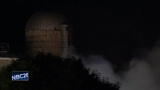 Fire levels barn in the Town of Utica - Video