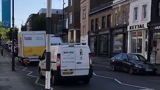 Emergency Services Rush to the Scene of Reported Tube Blast - Video