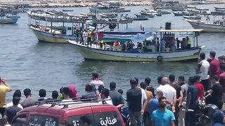 Flotilla Sets Off From Gaza in Challenge to Israeli Blockade