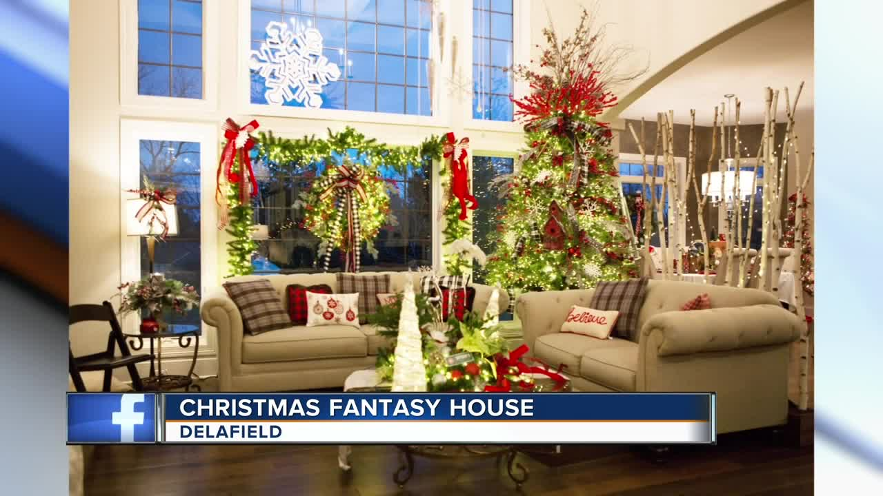 Christmas Fantasy House happening in Delafield this year