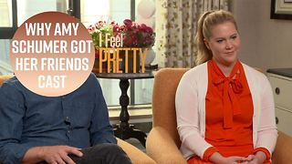 The cast of I Feel Pretty are all old friends or family - Video