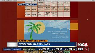 Things to do this Weekend August 25th to 27th in Southwest Florida - Video