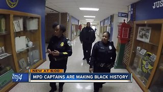 Milwaukee police captains are making black history
