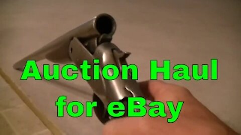 Find stuff to sell on eBay or Craigslist - for cheap!