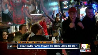 Bearcats fans react to loss to Central Florida