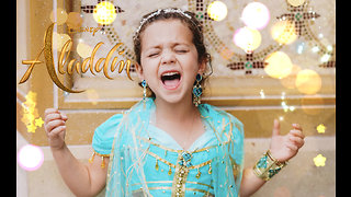 6-year-old sings powerful cover of Aladdin's 'Speechless'