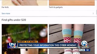 Protecting your information this cyber Monday