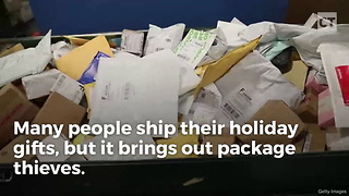 Sick of Package Thieves, Man Employs Special Ammo