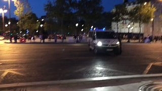 Heavy Police Presence After Officers Shot in Central Paris - Video