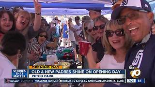 Padres Opening Day - Video