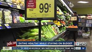 Eating healthy while staying on budget