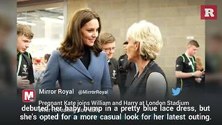 Kate Middleton rocks jeggings at latest public appearance | Rare People - Video