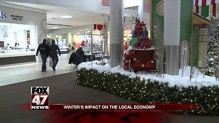 Local businesses are feeling winter's impact