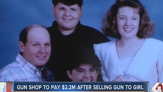 Gun shop to pay $2.2M after selling gun to woman - Video