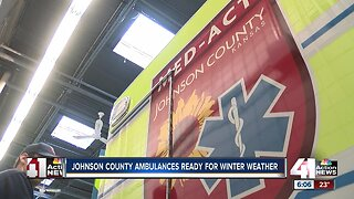 Here's how paramedics prepare for winter