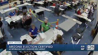 Arizona election certified, some republicans still aren't backing down