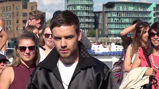 One Direction's Liam Payne films new music video in London - Video
