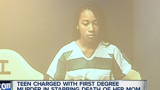 Teen charged with 1st degree murder in death of mother