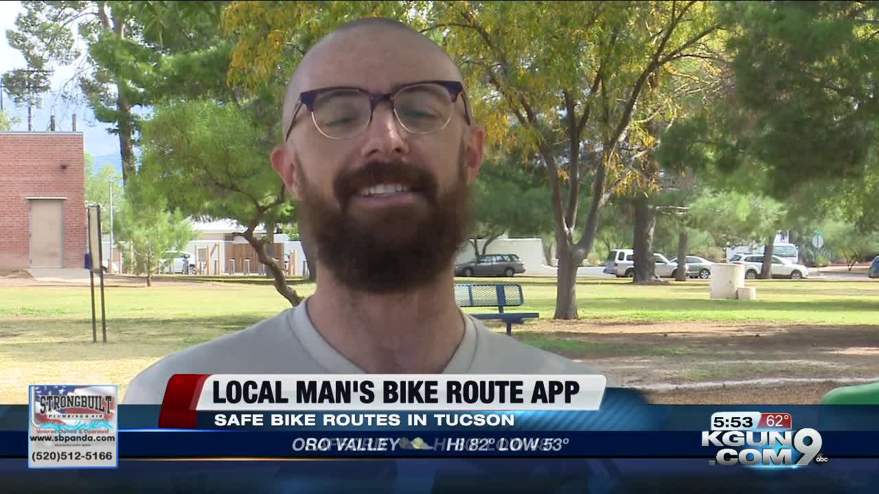 Tucson man creates website of safer bike routes for cyclists