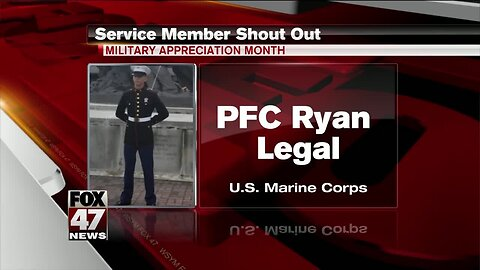 Yes Squad Service Member Shout Out: Ryan Legal