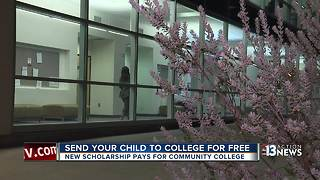 Deadline nears for 'tuition-free' scholarship at CSN - Video