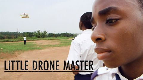 Teen fights crime in Nigeria using drones