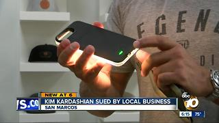 Kim Kardashian sued by San Diego-based company - Video