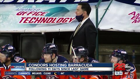23ABC Sports: Condors win third straight after 11 days off; other local teams preparing to make a return to action