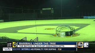 Bowie Baysox hosts '12 days of Christmas' event - Video