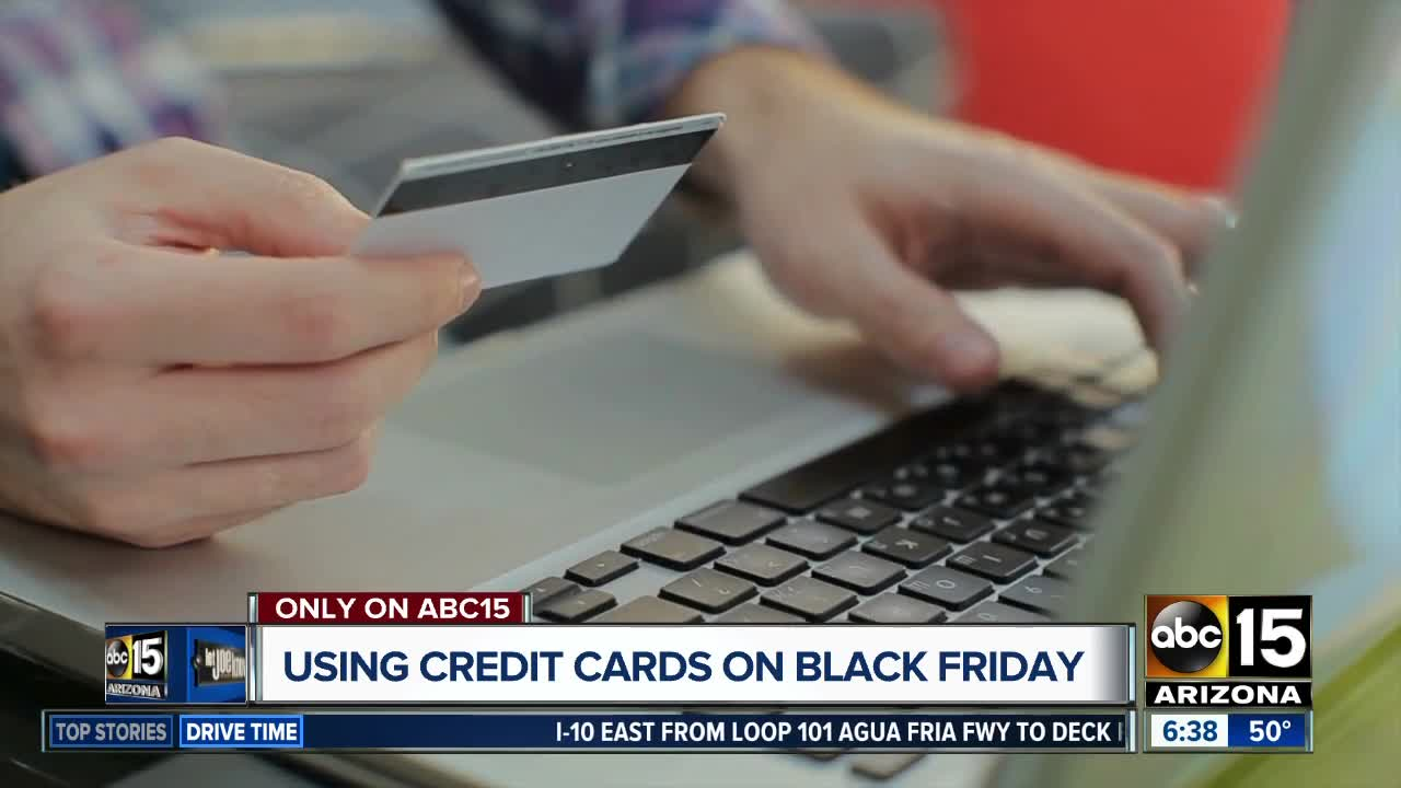 Should you use a credit card on Black Friday?
