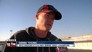 Derek Thorn answers questions about upcoming NASCAR events - Video