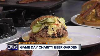 Game Day Charity Beer Garden - Video