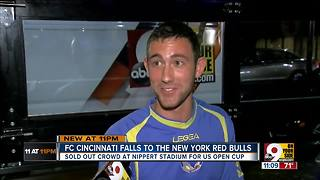 Despite heartbreak, FC Cincinnati fans enjoyed the ride - Video