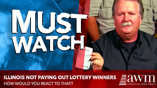 Lottery Winners Go To Claim $288M Winnings, State Refuses To Pay. Gives Sickening Reason - Video