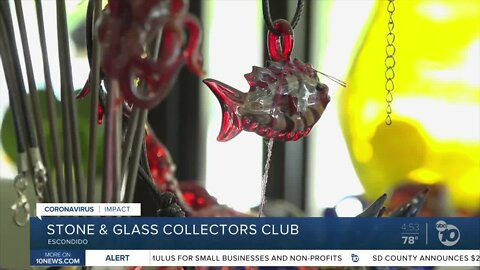 Local glassblower dealing with pandemic by offering 'Collectors Club'