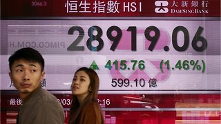Asian Stocks Fall Due To Fears Of A Recession